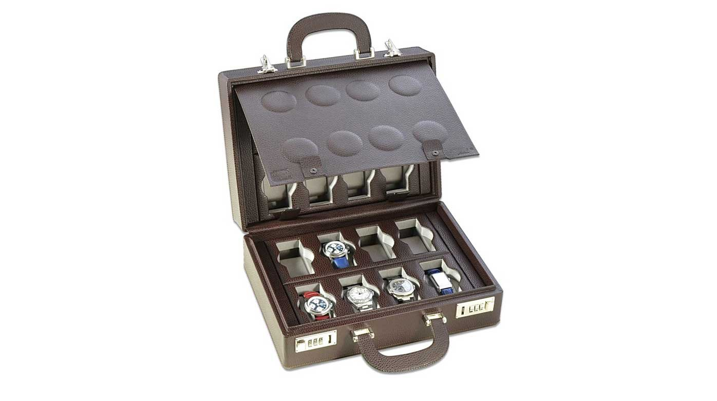 Accessories - Five watch cases to house a collection