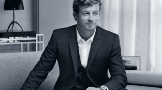 Simon Baker is the epitome of elegance