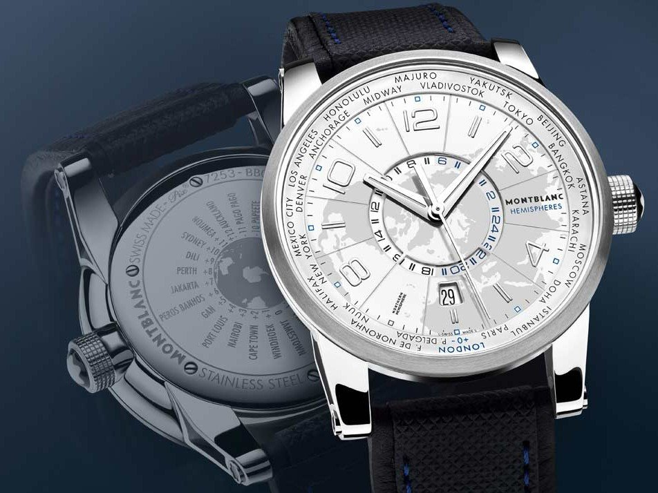 Montblanc - TimeWalker World-Time Hemispheres