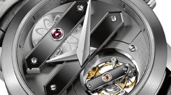 Tourbillon Bi-Axial Tantale et Saphir Innovation et technique