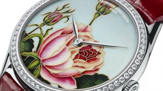 Métiers d'Art Florilège, Rose Centifolia watch Trends and style