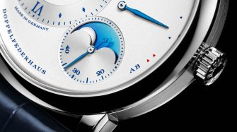 Lange 1 Moonphase 25th Anniversary Style & Tendance
