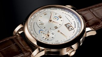 Lange 1 Time Zone Desden Edition Trends and style