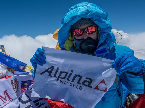 Alpina - Melissa Arnot, first American women to summit Everest without oxygen
