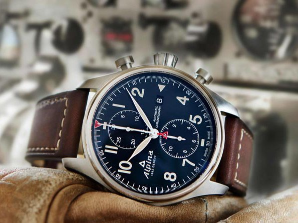 Alpina Startimer Pilot Automatic Chronograph Trends And Style - Alpina startimer