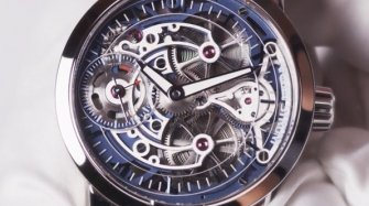 Video. Armin Strom Skeleton Pure Collection