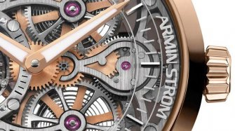 Tourbillon Skeleton Fire Innovation and technology