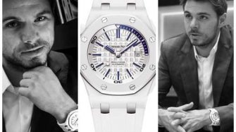 Stan Wawrinka et son Audemars Piguet Royal Oak Offshore Diver