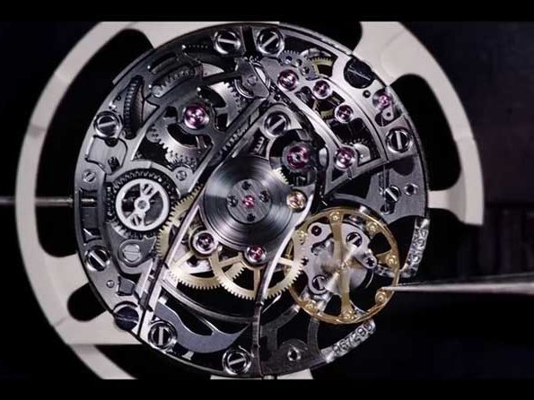Audemars Piguet - Video. Royal Oak Double Balance wheel Openworked