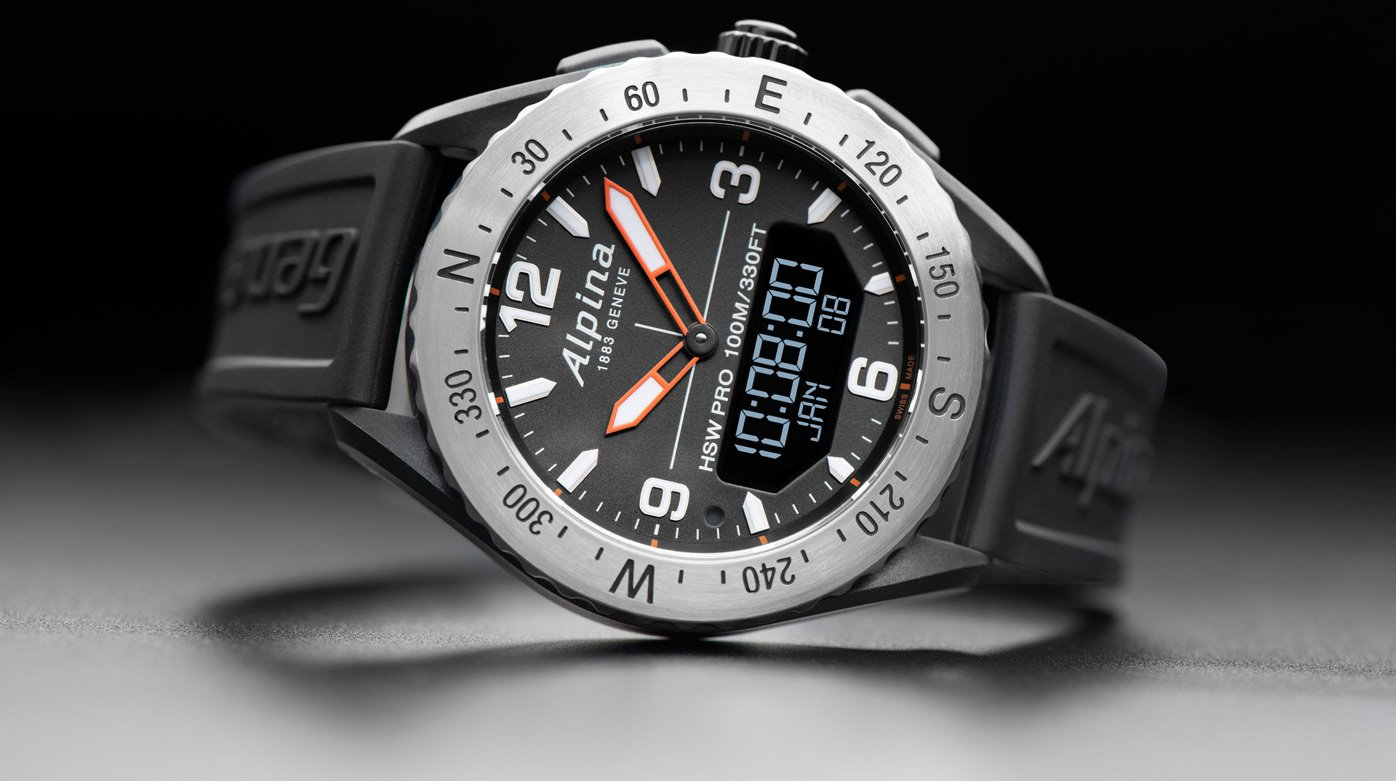 Alpina - AlpinerX Outdoors Smartwatch