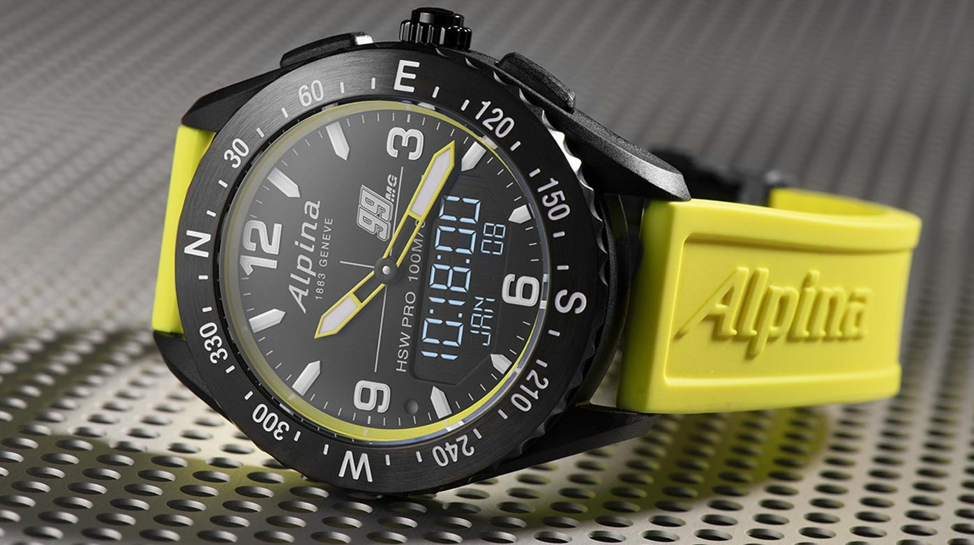 Alpina - Michael Goulian designs a Limited Edition Watch