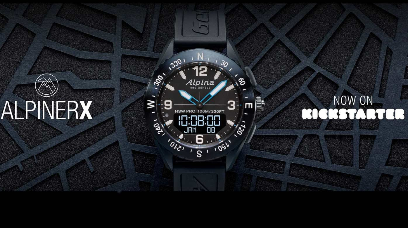 Smart watches	 - Alpina takes to Kickstarter with the Alpiner X