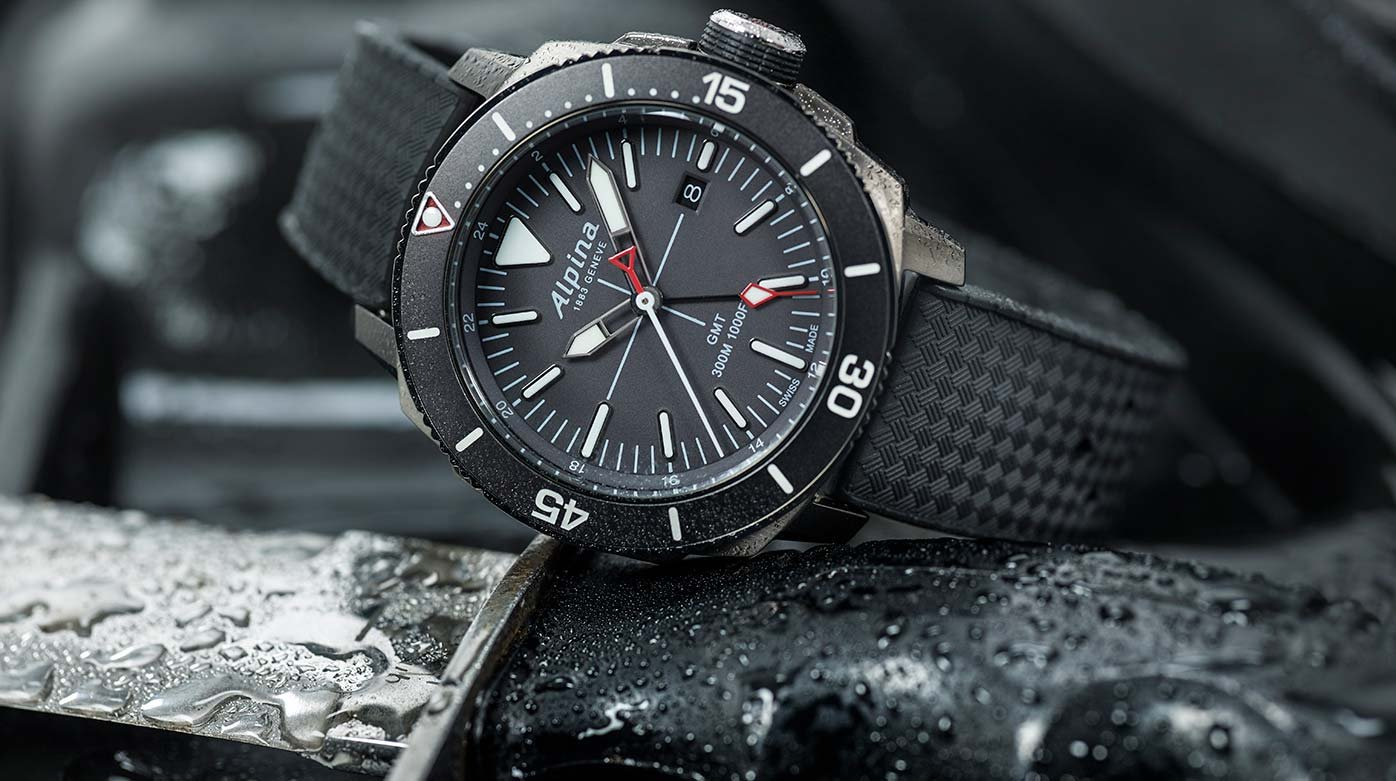 Alpina - Seastrong Diver GMT