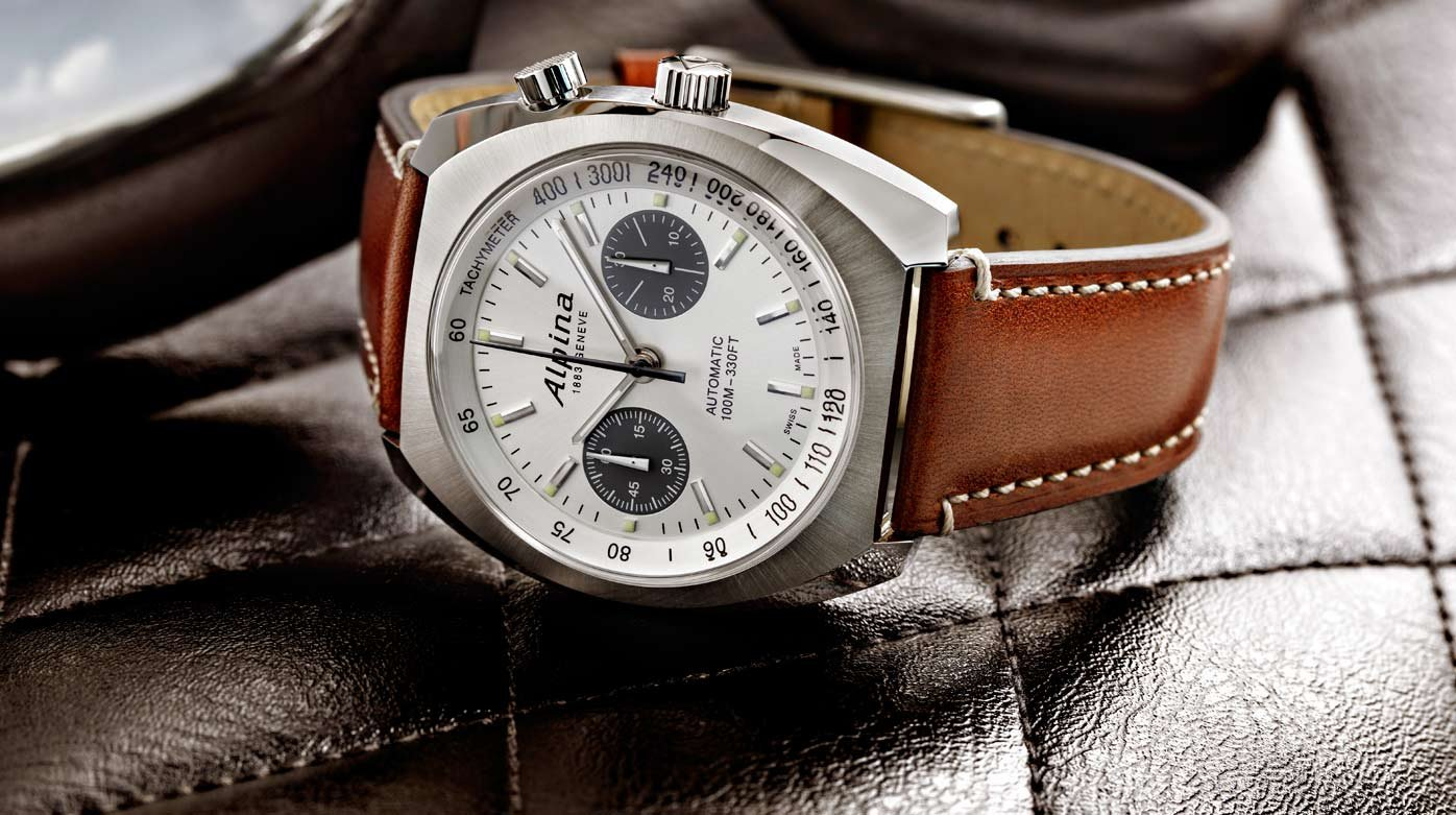 Alpina - Alpina adds a bespoke chronograph to the Startimer Pilot Heritage