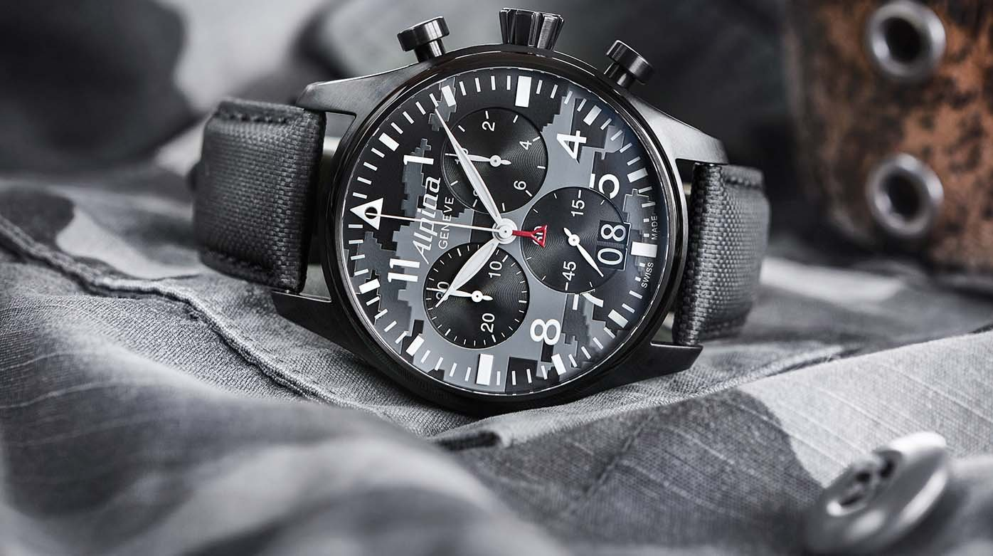 Alpina Startimer Pilot Quartz Big Date Chronograph Trends And - Alpina startimer