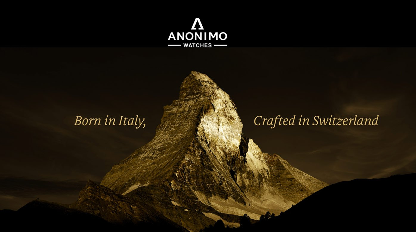 Anonimo - Three new points of sale in Switzerland