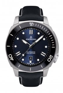 Auto - Steel Case Navy Blue Dial