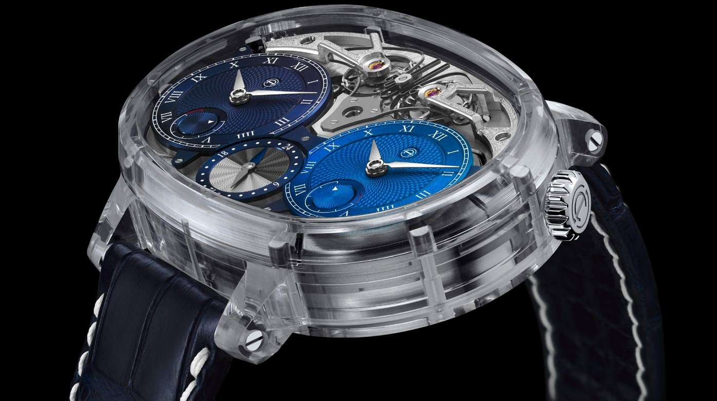 Armin Strom - En toute transparence : Dual Time Resonance Saphir