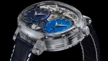 En toute transparence : Dual Time Resonance Saphir