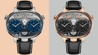 Des Dual Time Resonance en or