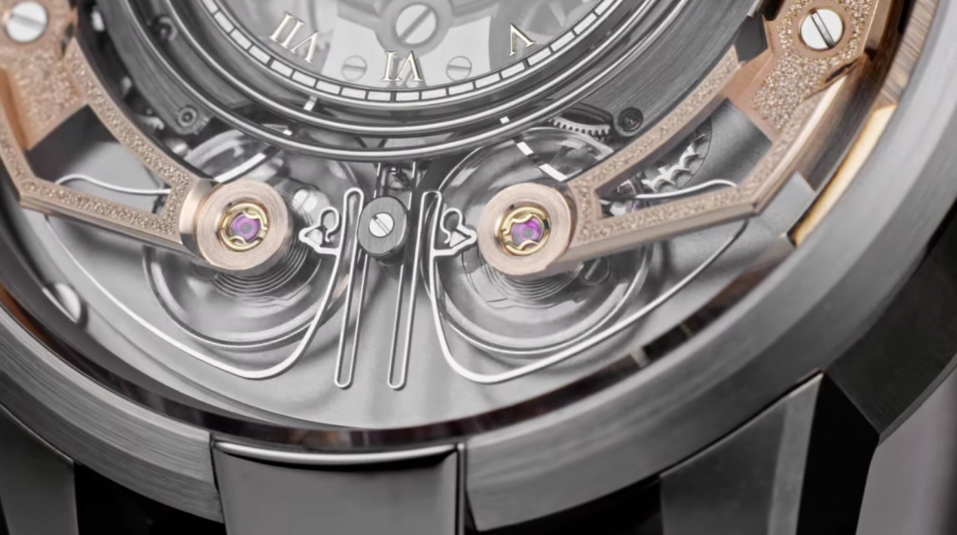 Armin Strom - La Minute Repeater Resonance en images