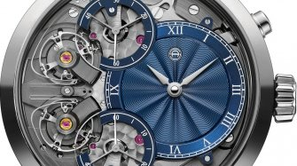 Mirrored Force Resonance with hand-made engine-turned dials Watches