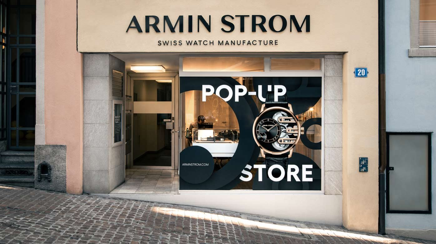 Armin Strom - Grand Opening of the First Armin Strom Pop-Up Store in Zurich