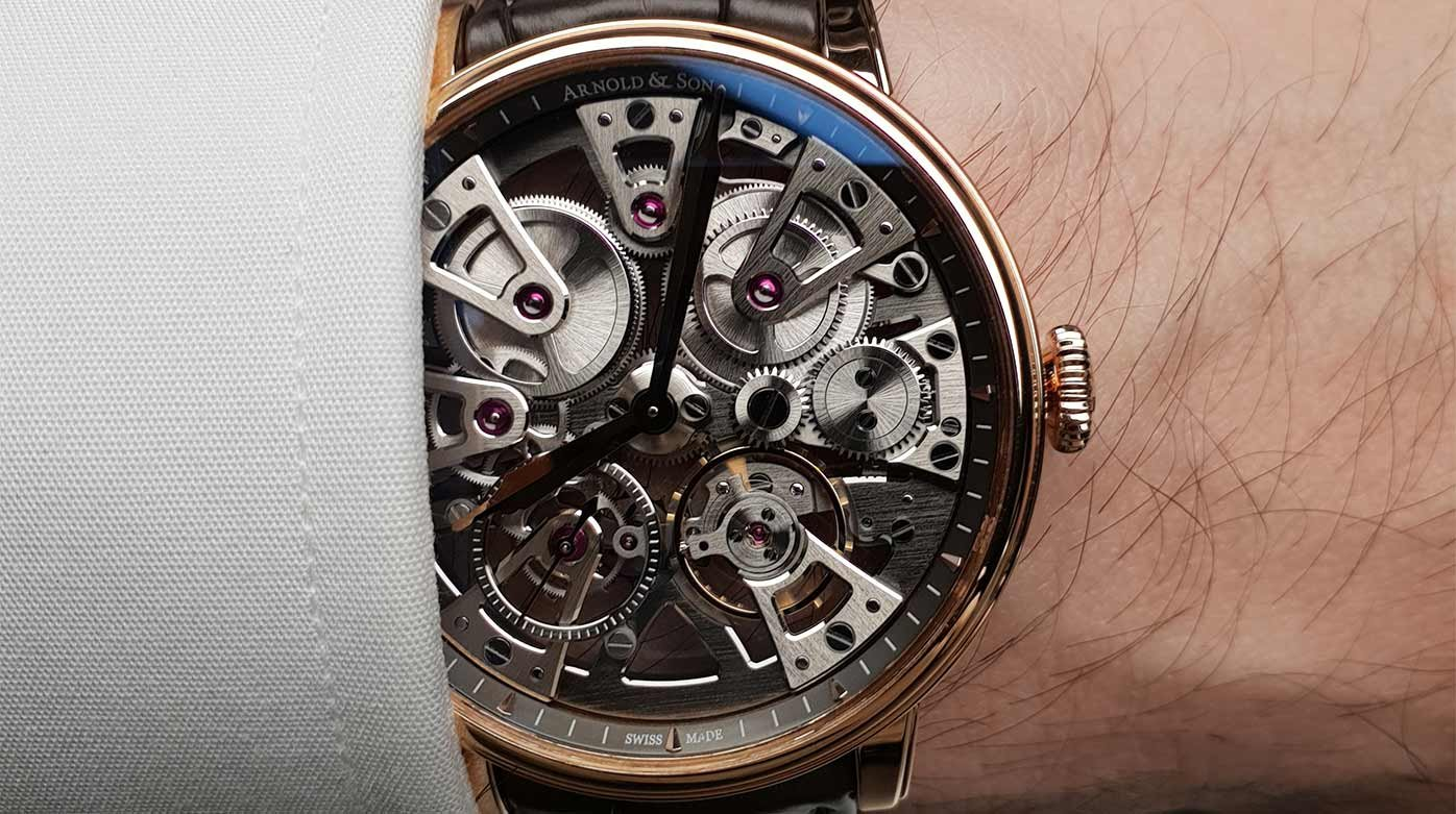 Arnold & Son  - Nebula : a confident blend of tech and traditional