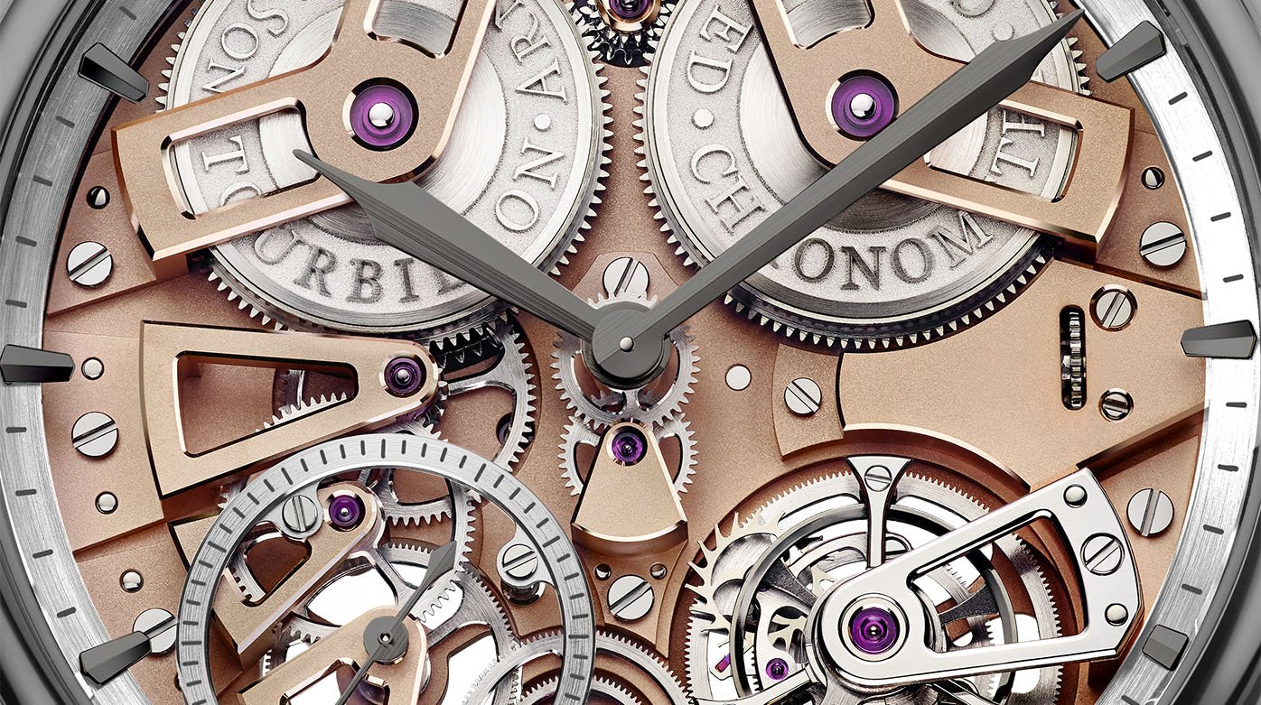 Arnold & Son - Tourbillon Chronometer No. 36 Gunmetal