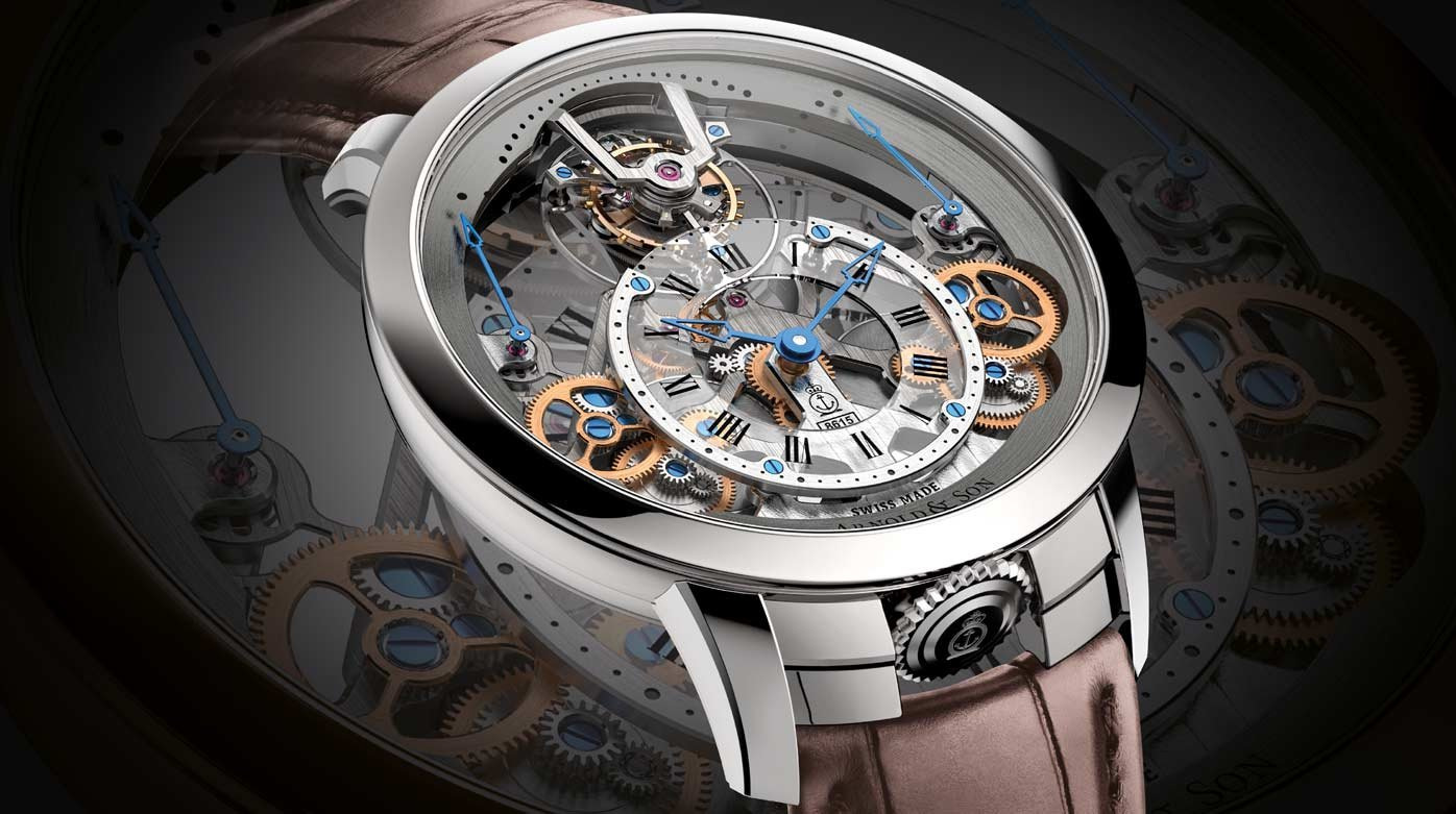 Arnold & Son - Time Pyramid Tourbillon
