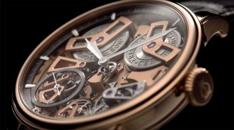 Chronometer Tourbillon No.36 Trends and style