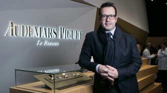 François-Henry Bennahmias, CEO of Audemars Piguet