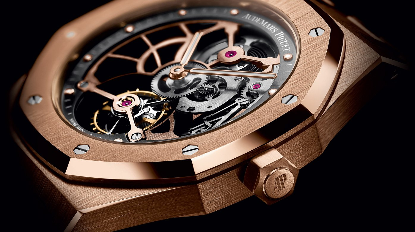 Audemars Piguet - Royal Oak Tourbillon Extra-Thin Openworked