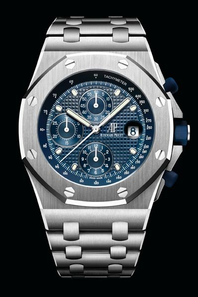 stainless audemars watches watch piguet oak en in royal collector steel square circa wrist