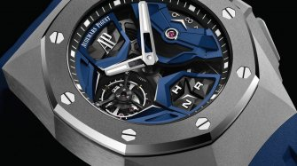 La Royal Oak Concept Tourbillon Volant GMT