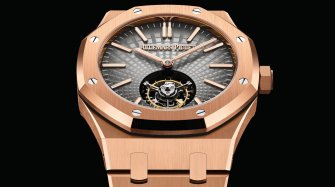 First Royal Oak Selfwinding Flying Tourbillon