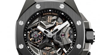 Royal Oak Concept Tourbillon volant GMT Innovation et technique