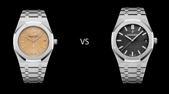 Karl and Gérald: Audemars Piguet Royal Oak – Jumbo or 15500?  Trends and style