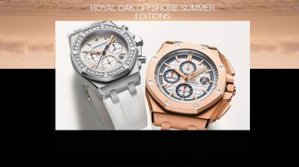 Royal Oak Offshore Summer Editions Trends and style