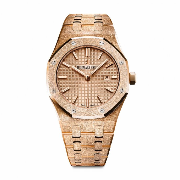 d1202ecf6546 Audemars Piguet - Royal Oak - Royal Oak Frosted Gold Selfwinding ...