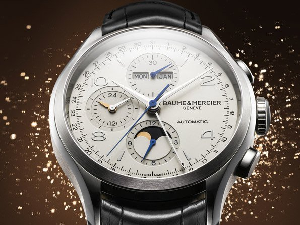 Baume & Mercier - Video. Clifton Chronograph Complete Calendar