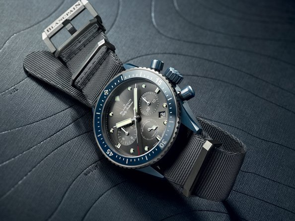 Blancpain - Video. Presentation of the new Fifty Fathoms Bathyscaphe BOC II