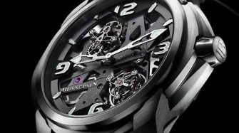 L-evolution Collection - Tourbillon Carrousel Innovation et technique