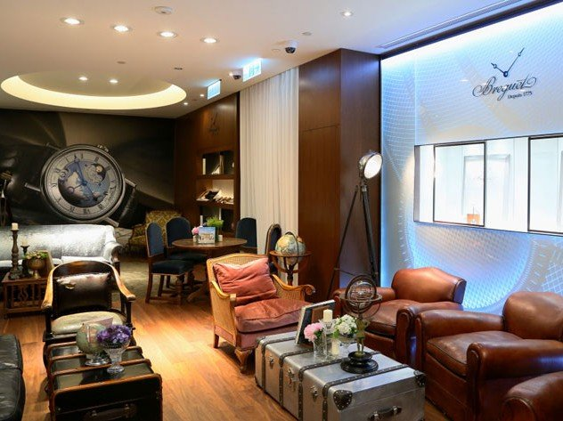 Breguet - The boutique in Taiwan travels the world