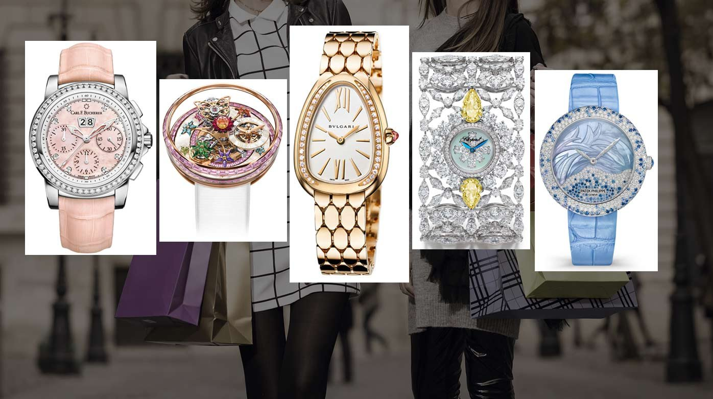 Baselworld 2019 - Top five women's watches