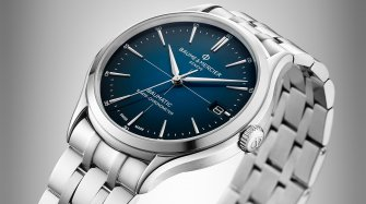 Simplicity and the Baume & Mercier Clifton Baumatic Chronometer Trends and style