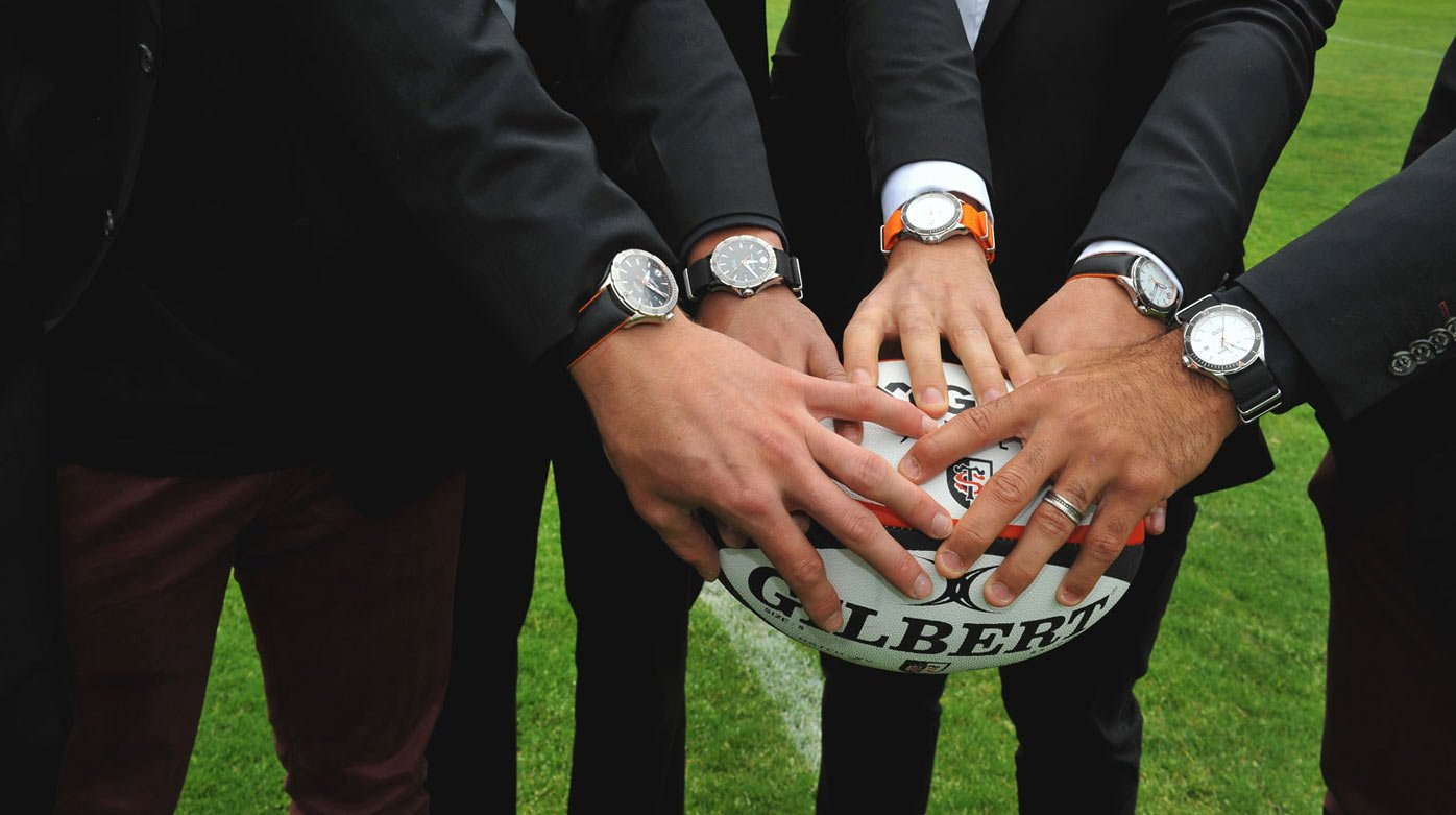 Baume & Mercier - Official partner of Toulouse rugby team