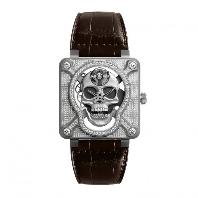BR01 Laughing Skull Full Diam