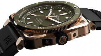 BR 03-92 Diver Green Bronze Trends and style