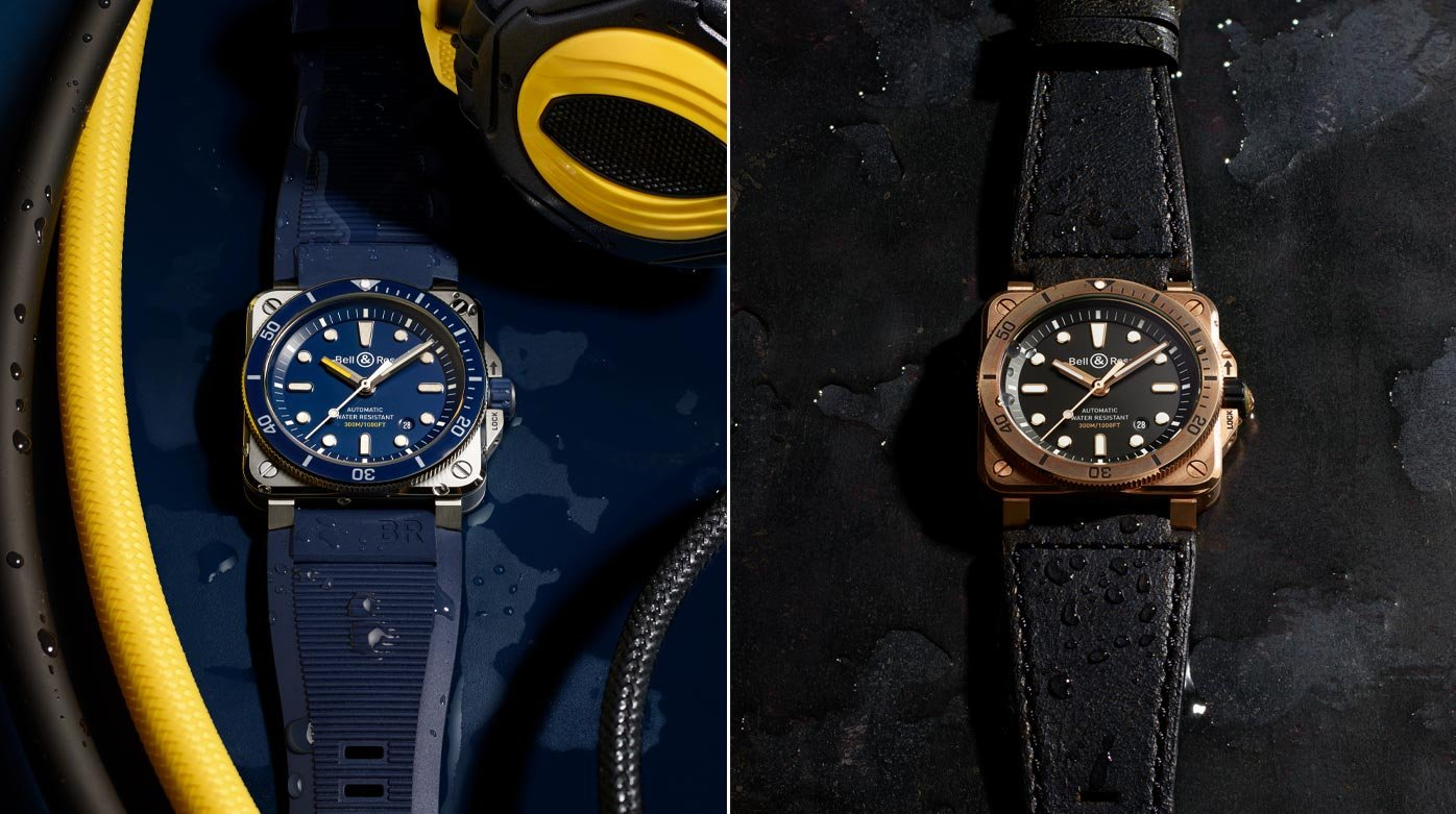 Why not...? - Cast against type and the Bell & Ross BR 03-92 Diver